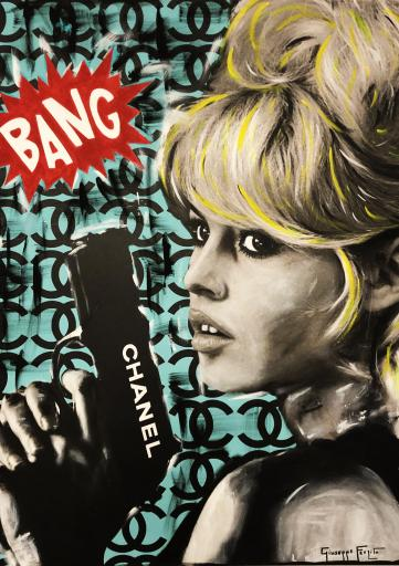 BANG - BRIGITT BARDOT - tiffany background